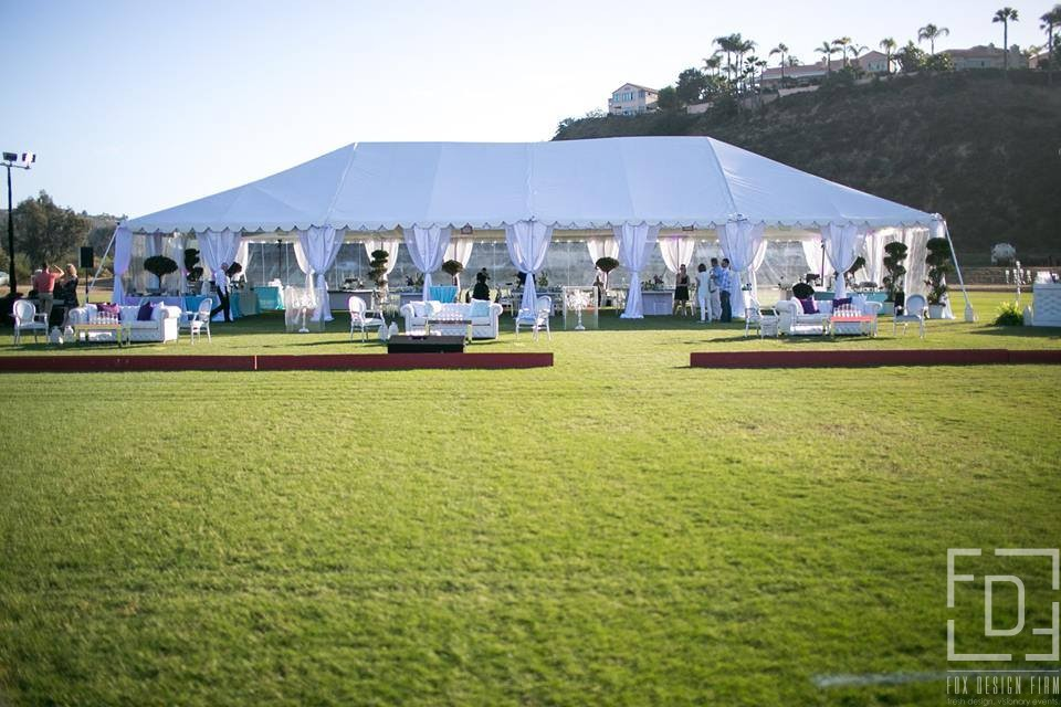 White Outdoor Event Tent - 3 Day Incentive - Event Designer