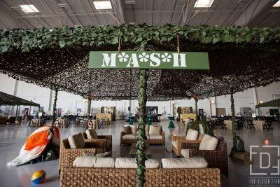 Mash Themed Corporate Event @ Miramar Airbase