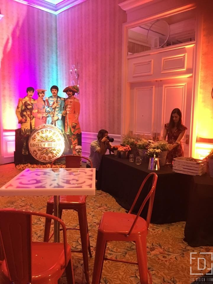 sergeant pepper club band event design