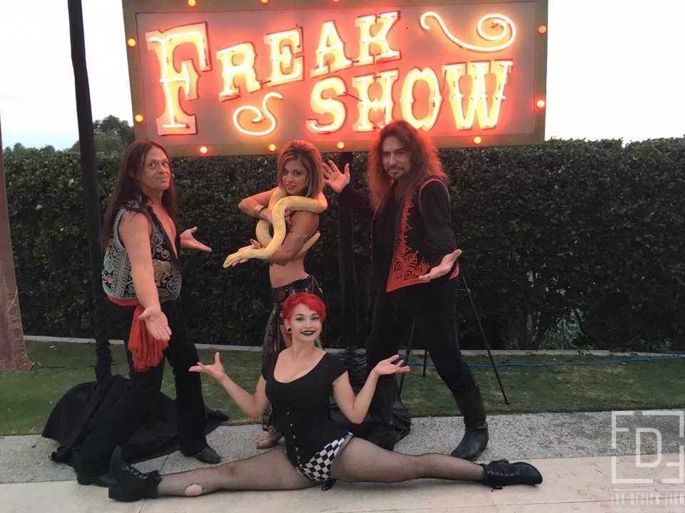 freak show entertainment for parties