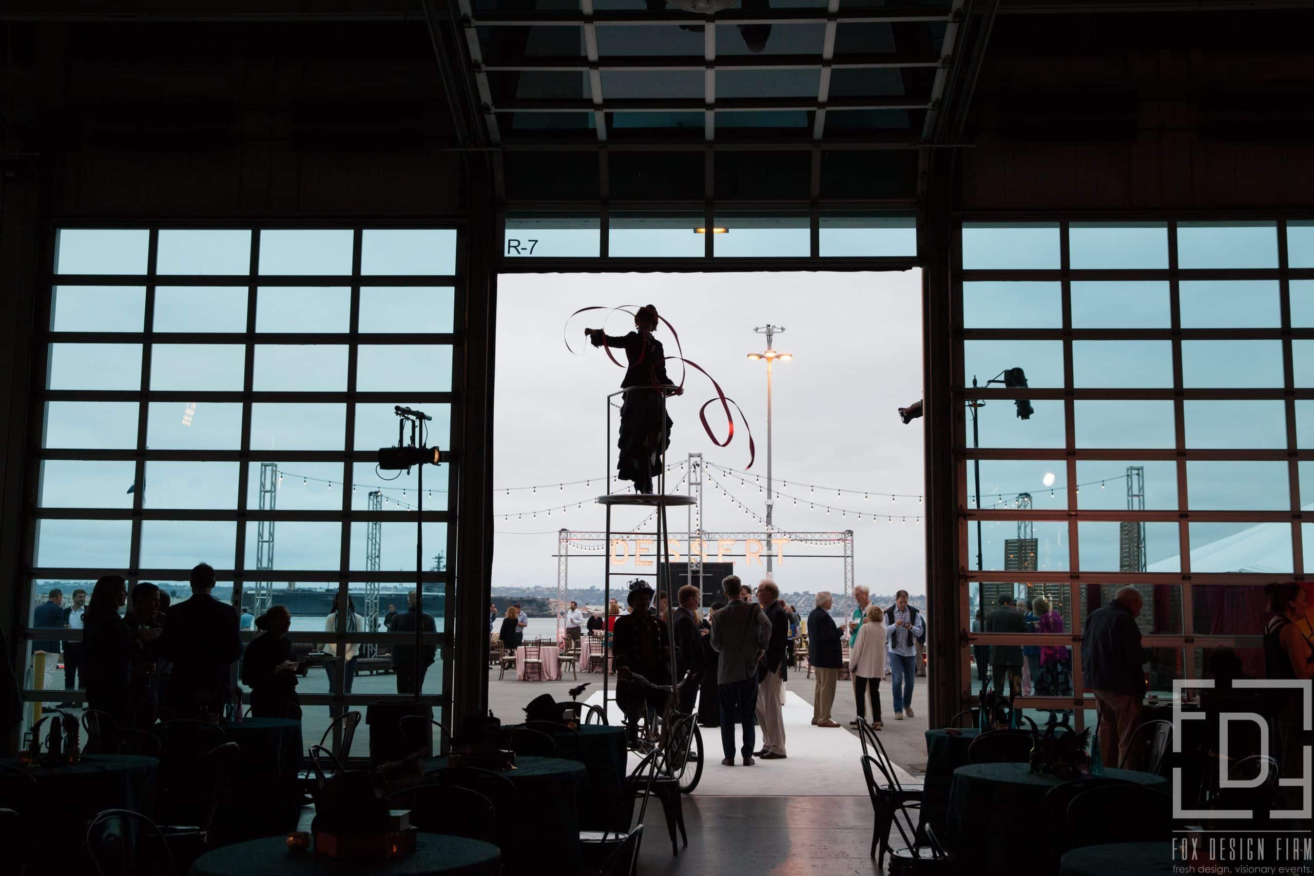 San Diego event photographer Broadway Pier Embarcadero Steampunk Theme Circus Artists