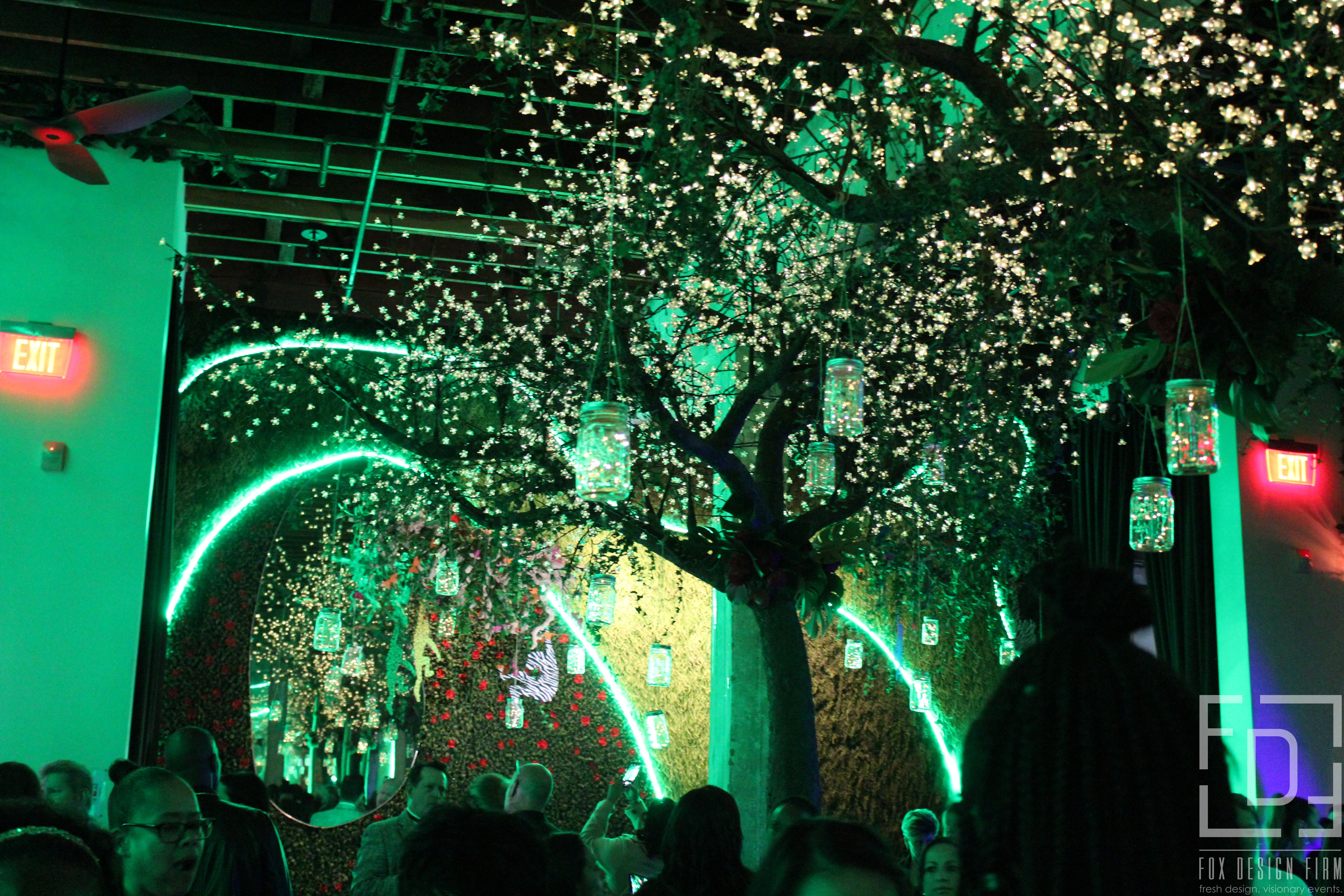 parq nightclub jungle theme